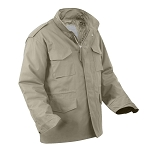 Khaki M-65 Field Jacket with Liner