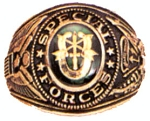 Special Forces Deluxe Engraved Ring