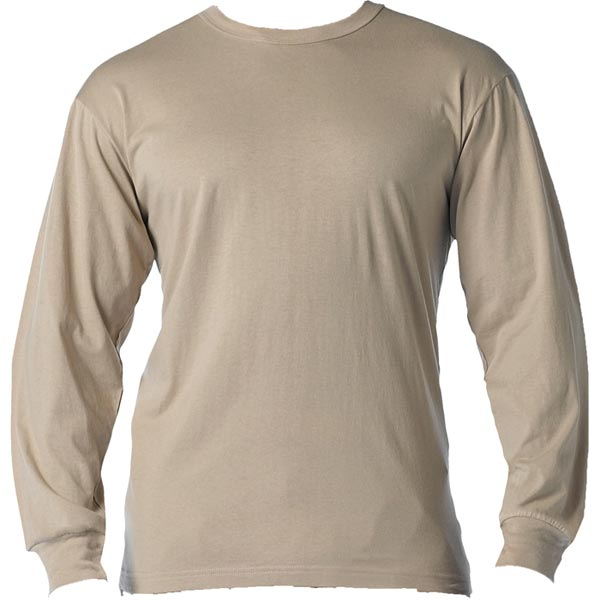 Desert Sand Long Sleeve T-Shirt | Men's Long Sleeve Shirt