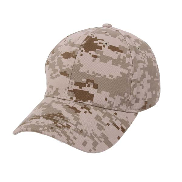 digital desert camo baseball hat