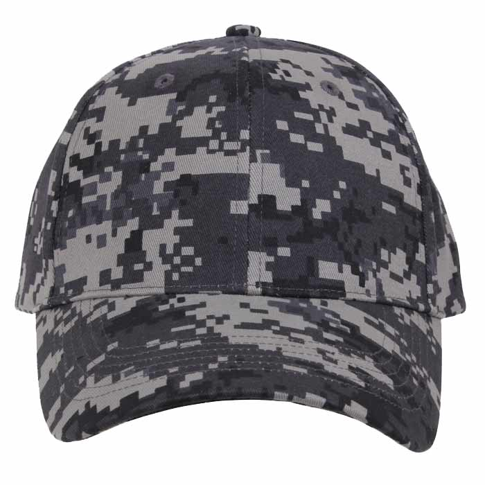 subdued digital camouflage baseball hat