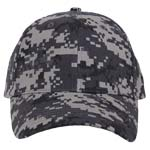 Subdued Urban Digital Camouflage Baseball Cap