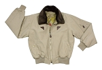 Vintage Cotton B-15A Bomber Jacket - Khaki or Black