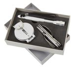 3 Piece Silver Camp Gear Gift Set
