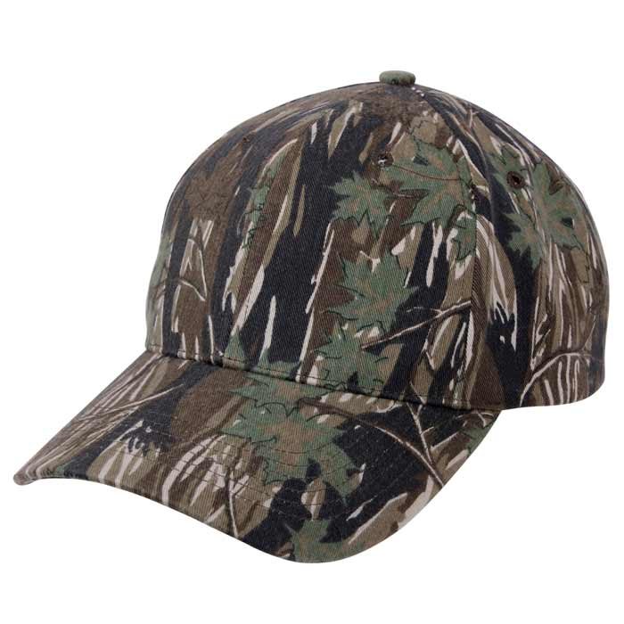 smokey branch camouflage baseball hat