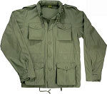 Lightweight Vintage M-65 Field Jacket