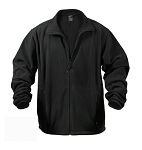Mountain Patrol Black Polar Fleece Jacket