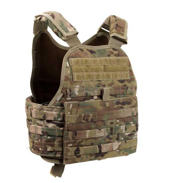 Multicam Tactical Plate Carrier Vest