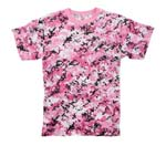 Pink Digital Camo T-Shirt