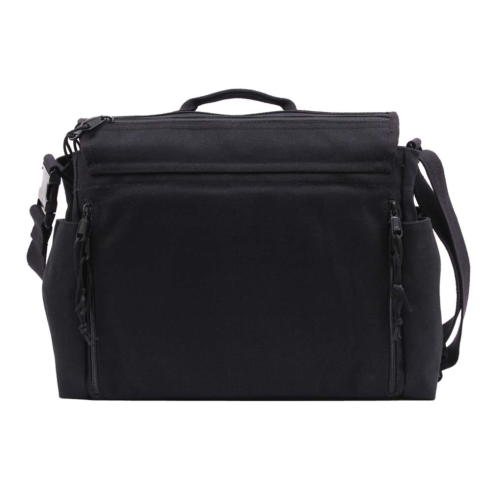 rothco black concealed carry messenger bag