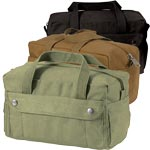 Military Style Canvas Tool Bag - Small