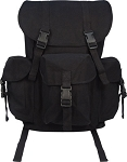 Black Canvas Outfitter Military Rucksack
