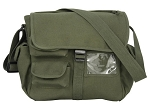 Urban Explorer Canvas Bag - Olive or Black