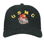 USMC Bulldog Supreme Low Profile Baseball Hat