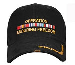 Deluxe Enduring Freedom Military Baseball Hat