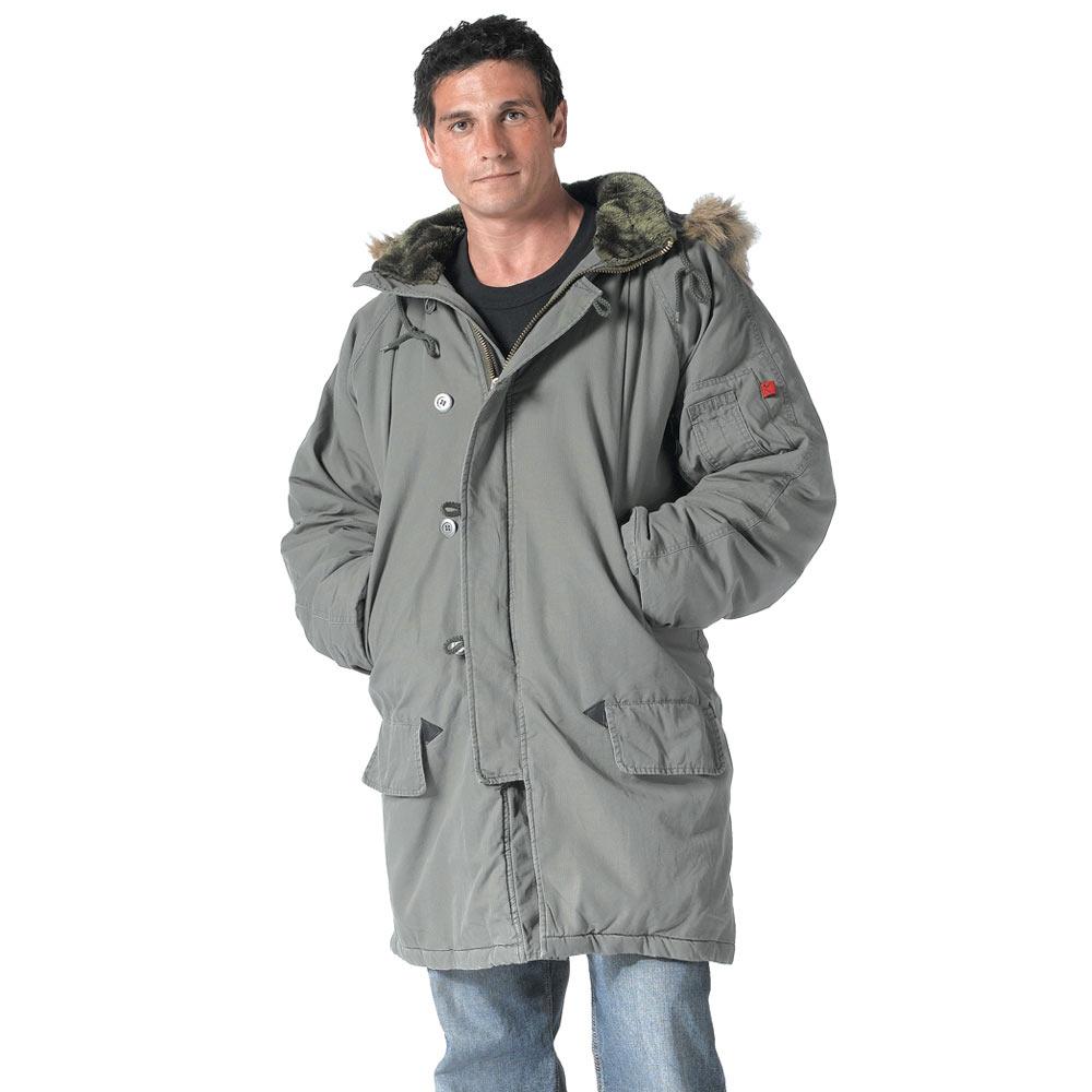 vintage military n 3b winter coat. Black Bedroom Furniture Sets. Home Design Ideas
