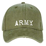 Vintage Olive Drab Army Low Profile Baseball Cap