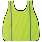Basic Issue High Visibility Neon Green Safety Vest