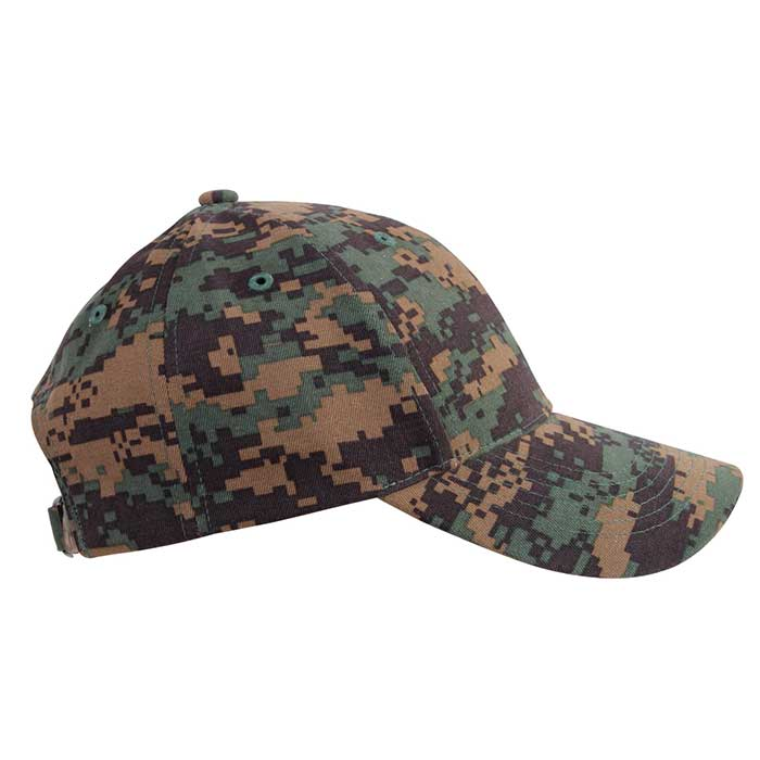 children s woodland digital camouflage baseball hat