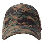 Kids Woodland Digital Camo Baseball Hat