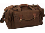 Brown Canvas Long Weekend Duffel Bag