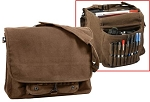 Vintage Brown Canvas Paratrooper Bag