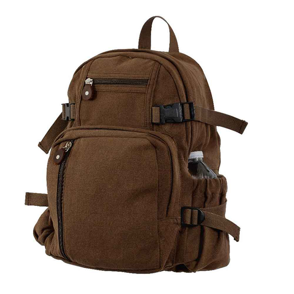 Mini Canvas Backpack | Military Backpacks Olive or Black