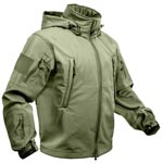 Special Ops Waterproof Olive Drab Soft Shell Jacket