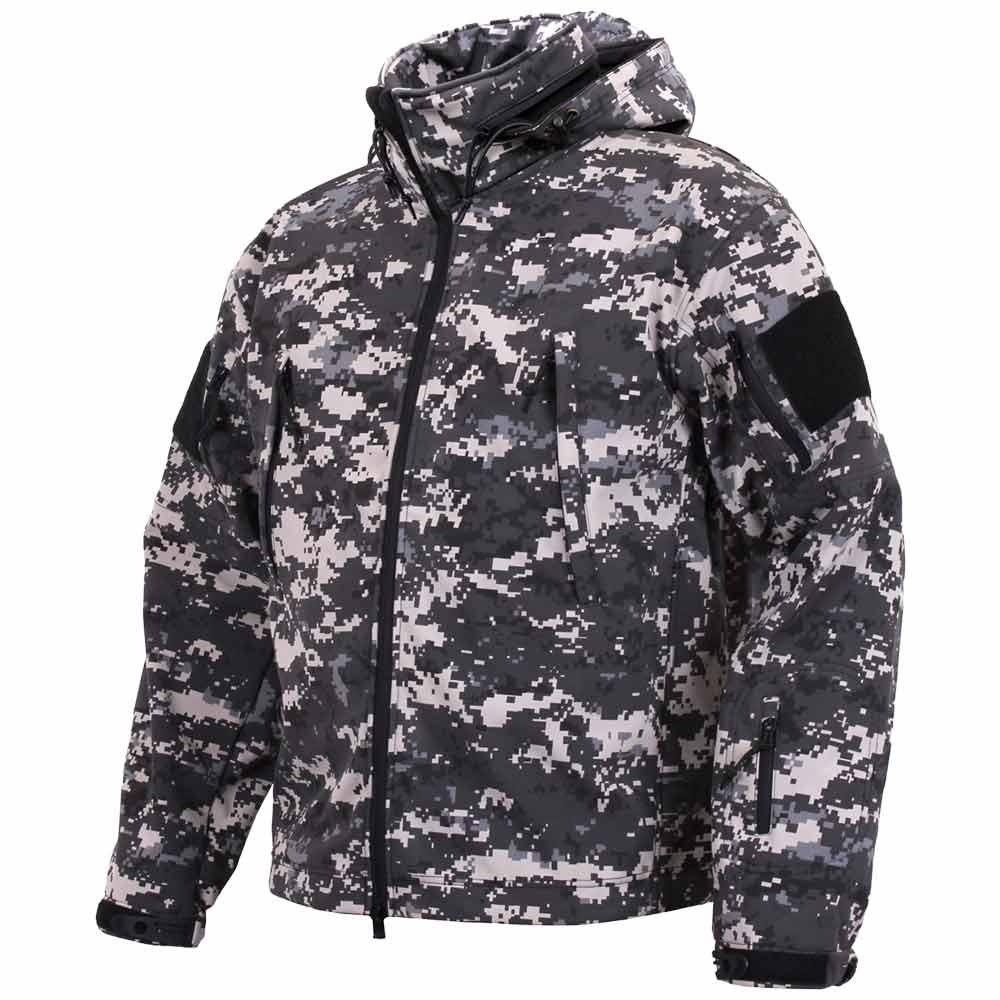 Spec Ops Subdued Urban Digital Soft Shell Jacket