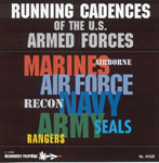 Running Cadences of The Armed Forces CD
