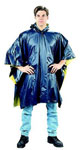 Reversible Blue and Yellow PVC Rain Poncho