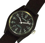 Black Military Field Watch