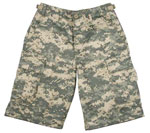 Kids Digital Camo Shorts