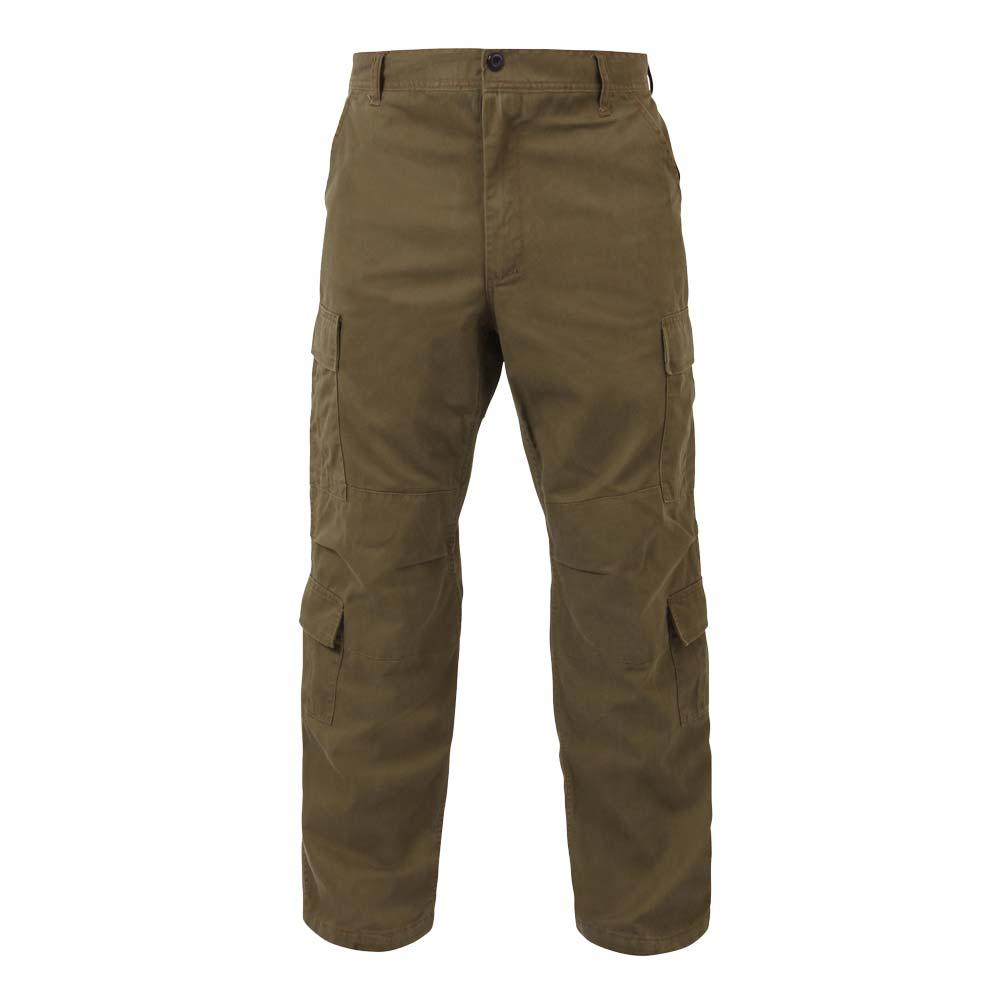 Vintage Dark Khaki Cargo Pants - Vintage Army Pants
