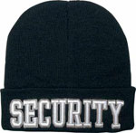 Deluxe Security Embroidered Winter Hat
