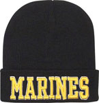 Deluxe Marines Embroidered Winter Hat