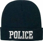 Deluxe Police Embroidered Winter Hat
