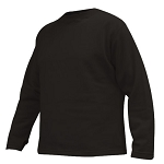 Military Black Heavyweight ECWCS Polypropylene Crew Neck Thermal Shirt