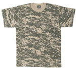 Army Digital Camo Military T-shirt