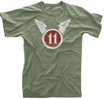 Vintage Olive Drab 11th Airborne T-Shirt