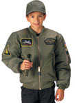 Kids Top Gun MA 1 Flight Jacket
