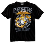 Marine Globe and Anchor T-Shirt