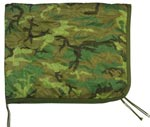 U.S Made Woodland Camouflage Poncho Liner