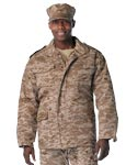 Desert Digital Military Field Jacket