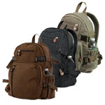 Mini Military Canvas Backpack