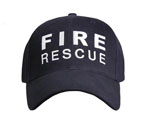 Fire Rescue Low Profile Baseball Cap