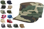 Basic Issue Twill Camouflage Patrol Hat