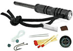 Smith and Wesson Tactical Fire Striker and Survival Kit - SWFS1