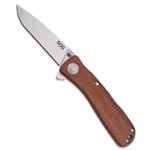SOG Twitch II Wood Handle Assisted Open Folding Knife - TWI-14