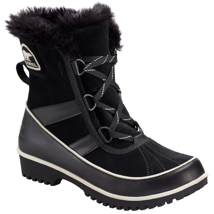 sorel tivoli ii womens black insulated winter boots